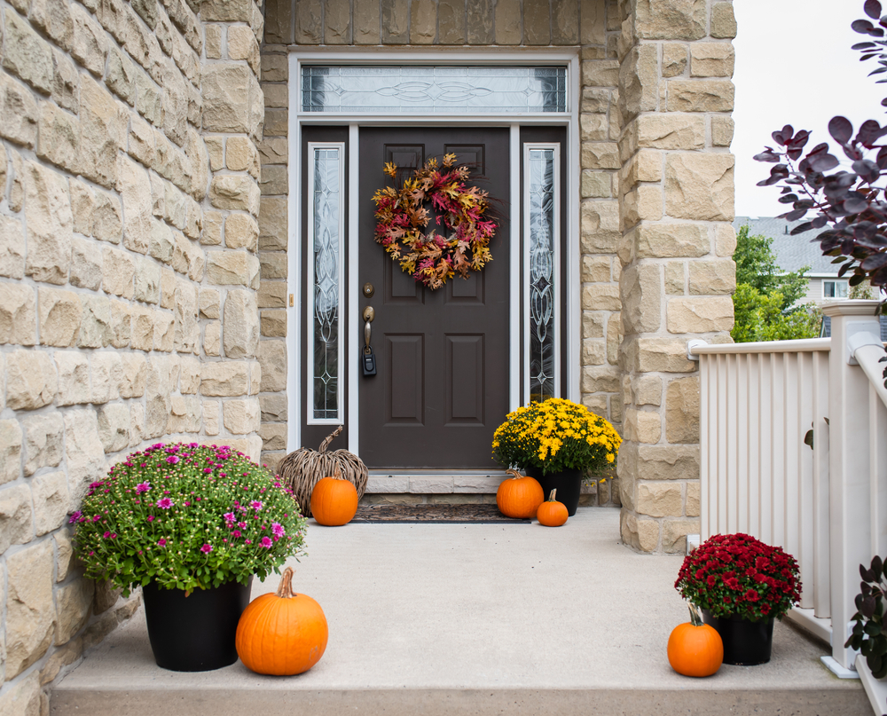 Budget Curb Appeal For Fall